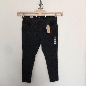 Levi's Pull-On Leggings Animal Print Grey 22W
